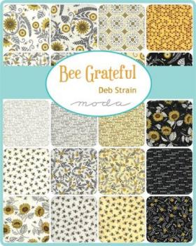 19960PP Moda Charm Pack Bee Greatful by Deb Strain